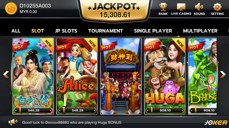 Casino Slot Joker123 Online